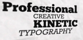 Project 1 Kinetic Typography Videos